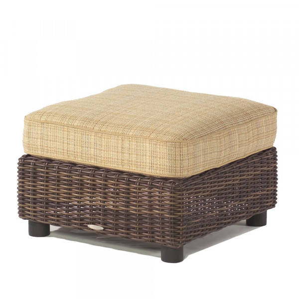 WhiteCraft by Woodard Sonoma Wicker Ottoman