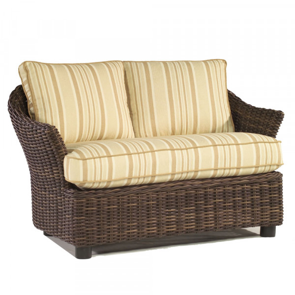 WhiteCraft by Woodard Sonoma Wicker Chair and a Half