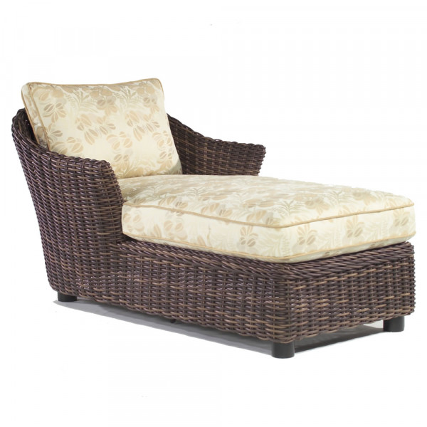WhiteCraft by Woodard Sonoma Wicker Chaise Lounge