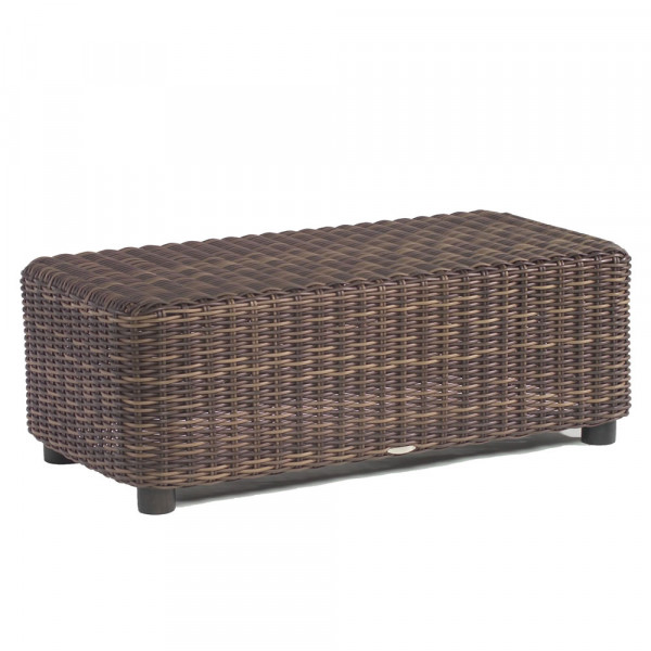 WhiteCraft by Woodard Sonoma Wicker Cocktail Table