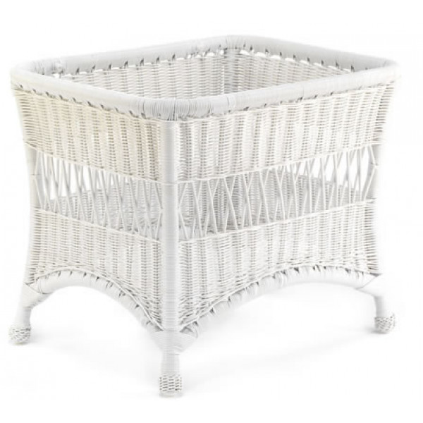 WhiteCraft by Woodard Sommerwind Wicker End Table