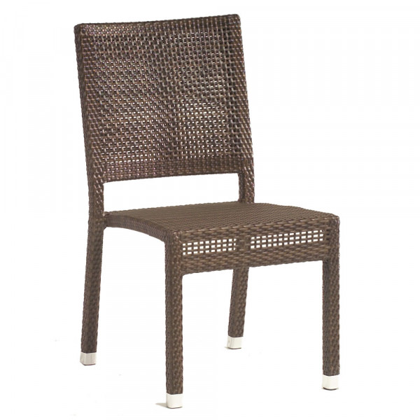 WhiteCraft by Woodard Miami Armless Wicker Dining Chair