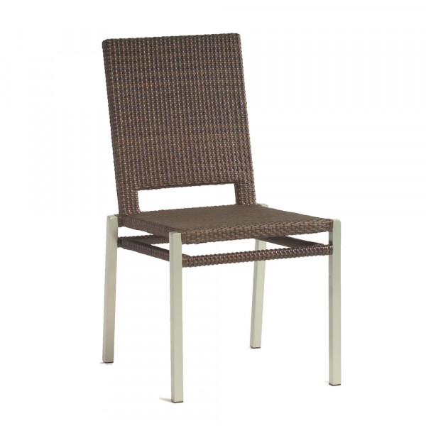 WhiteCraft by Woodard Pacific Armless Wicker Dining Chair