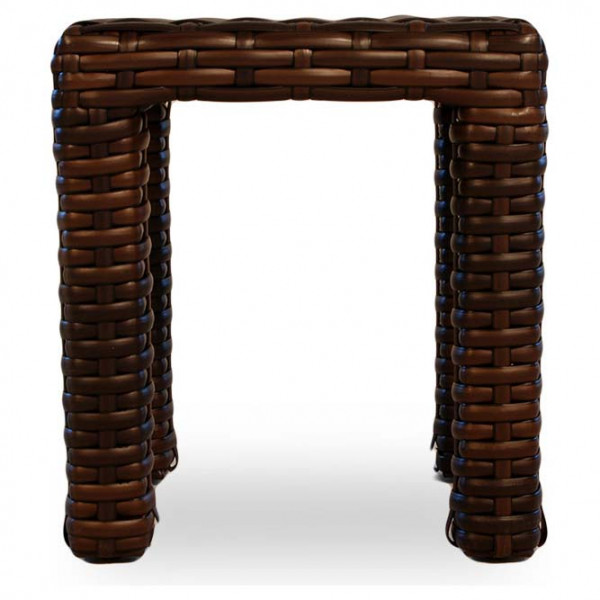 "Lloyd Flanders Contempo 16"" Wicker End Table"