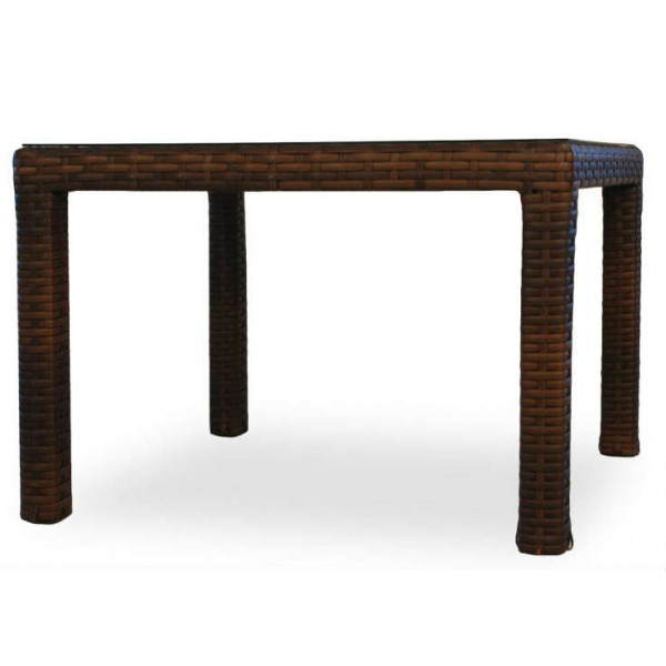 "Lloyd Flanders Contempo 42"" Wicker Dining Table"