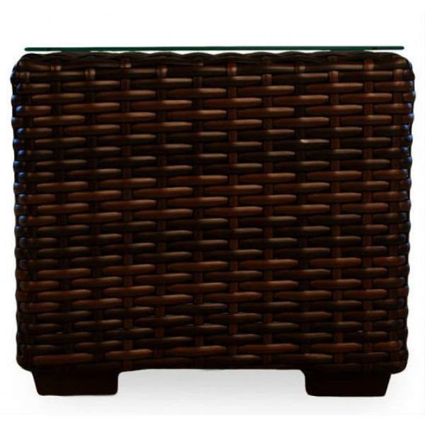 "Lloyd Flanders Contempo 22"" Wicker End Table"