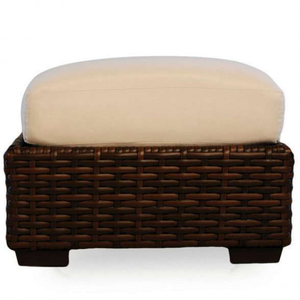 Lloyd Flanders Contempo Wicker Ottoman