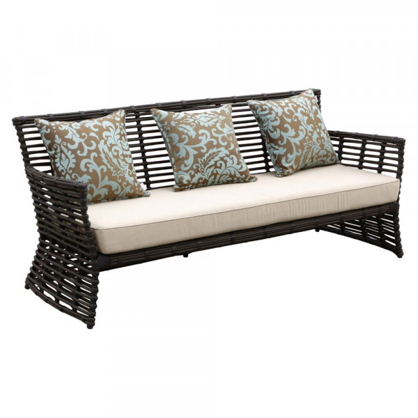 Sunset West Venice Wicker Sofa