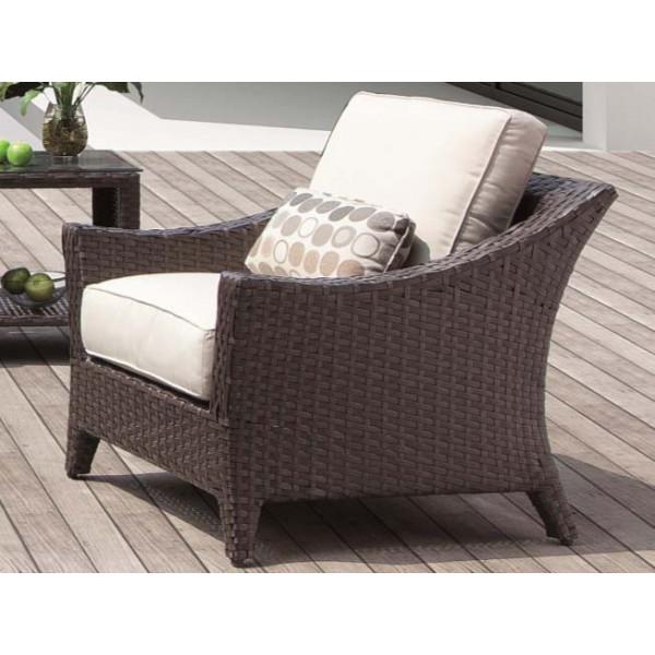 Longboat Key Euclid Wicker Lounge Chair
