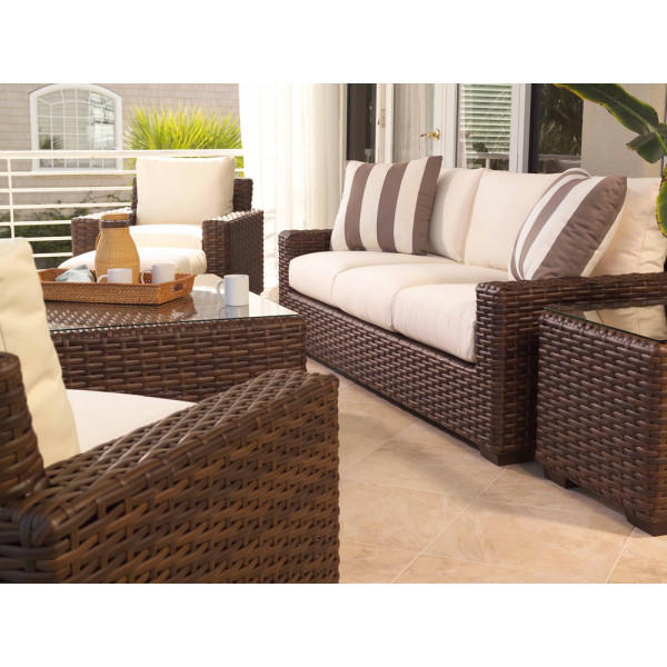 Lloyd Flanders Contempo 5 Piece Wicker Conversation Set