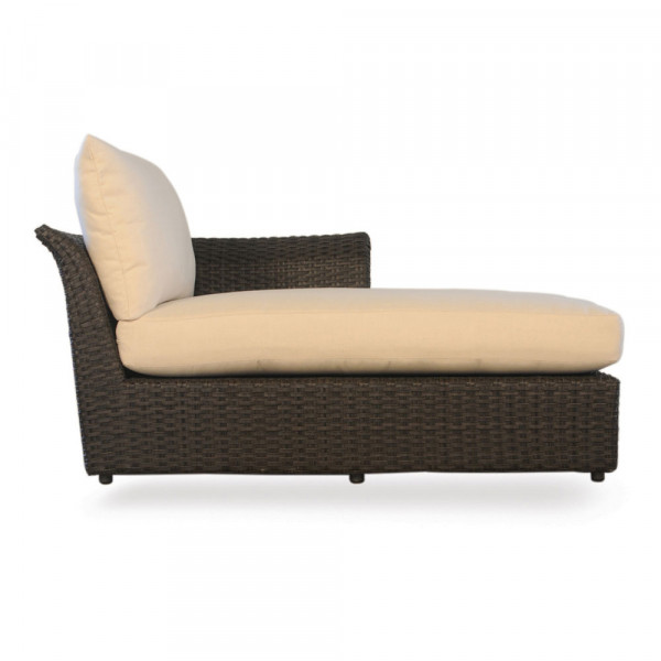 Lloyd Flanders Flair Right Arm Facing Wicker Chaise Lounge - Replacement Cushion