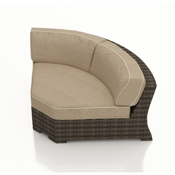 Forever Patio Pavilion 45 Degree Wicker Corner Chair - Replacement Cushion