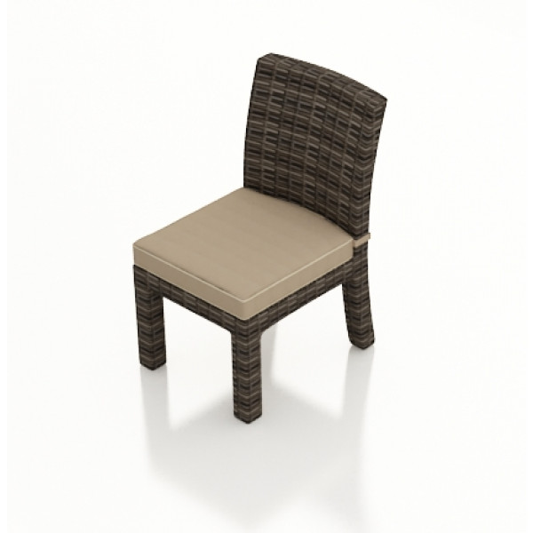 Forever Patio Pavilion Armless Wicker Dining Chair - Replacement Cushion