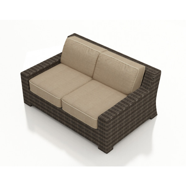 Forever Patio Pavilion Wicker Loveseat - Replacement Cushion