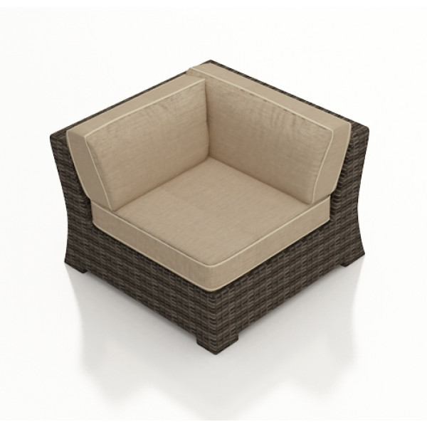 Forever Patio Pavilion Wicker Corner Chair - Replacement Cushion