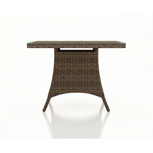 Forever Patio Cypress Wicker 48 Square Dining Table