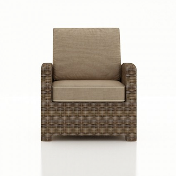 Forever Patio Cypress Wicker Lounge Chair