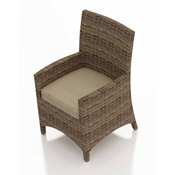 Forever Patio Cypress Wicker Dining Chair - Replacement Cushion