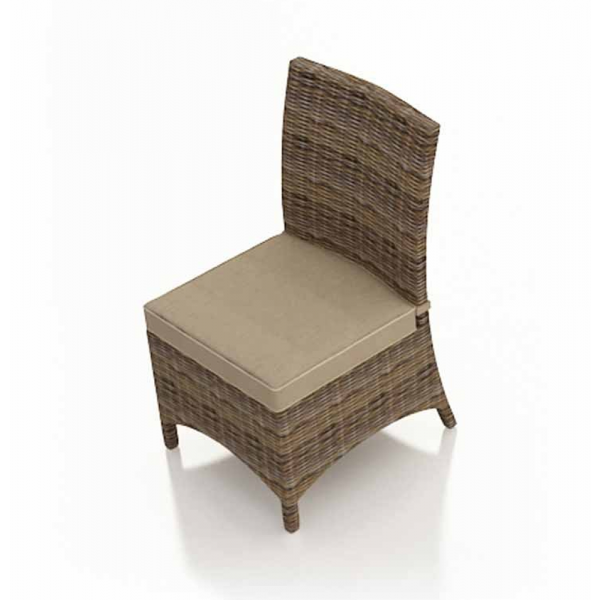 Forever Patio Cypress Armless Wicker Dining Chair