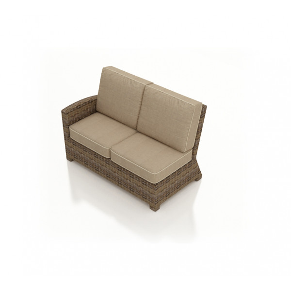 Forever Patio Cypress Left Arm Facing Wicker Loveseat