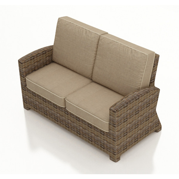Forever Patio Cypress Wicker Loveseat - Replacement Cushion