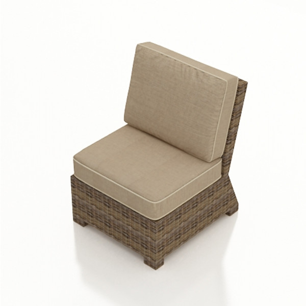 Forever Patio Cypress Armless Wicker Lounge Chair