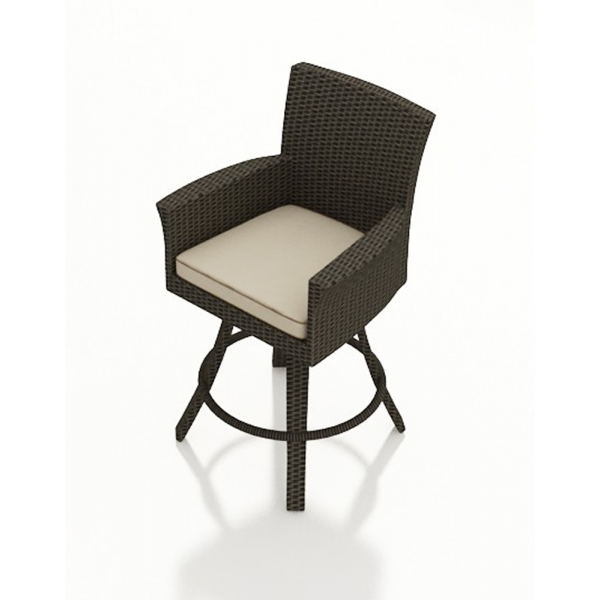 Forever Patio Hampton Wicker Swivel Bar Chair - Replacement Cushion