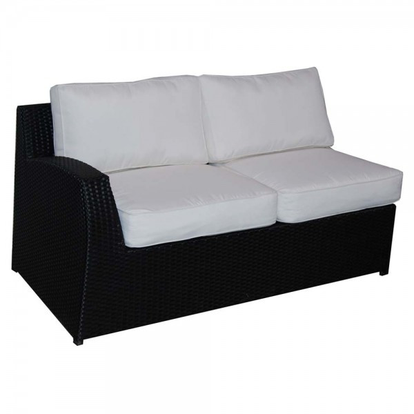 Forever Patio Soho Wicker Left Arm Sectional Loveseat - Replacement Cushion