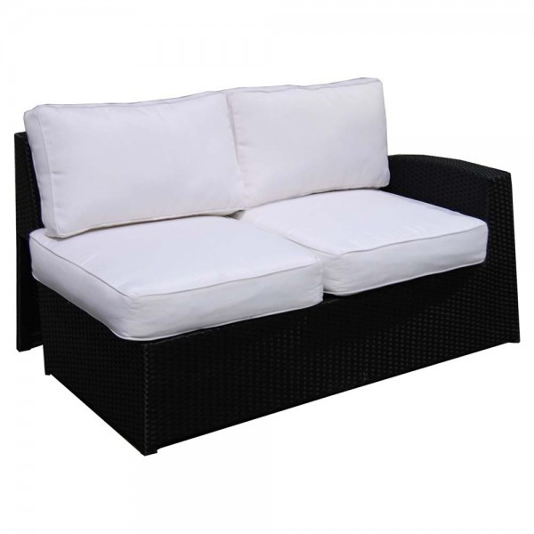 Forever Patio Soho Wicker Right Arm Sectional Loveseat - Replacement Cushion