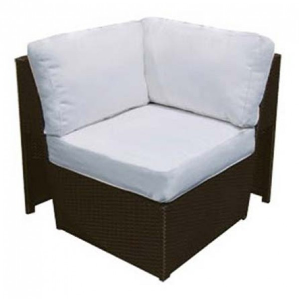 Forever Patio Soho Wicker Sectional Corner Chair
