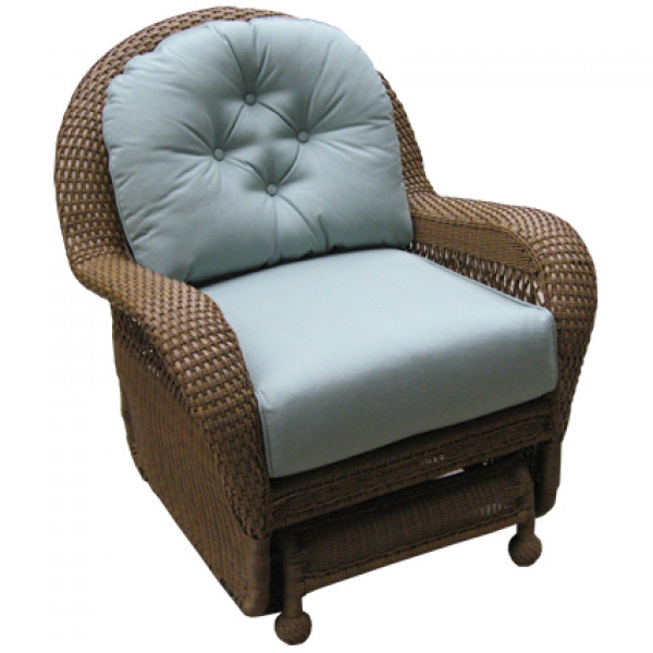 Longboat Key Casa Del Mar Wicker Glider