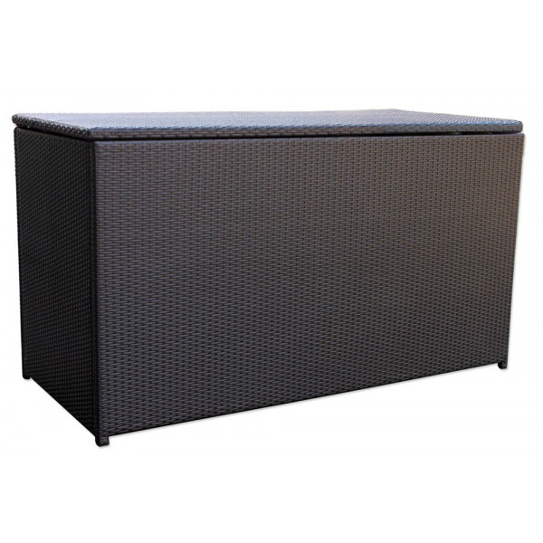 Harmonia Living Urbana Coffee Bean Wicker Cushion Storage Box