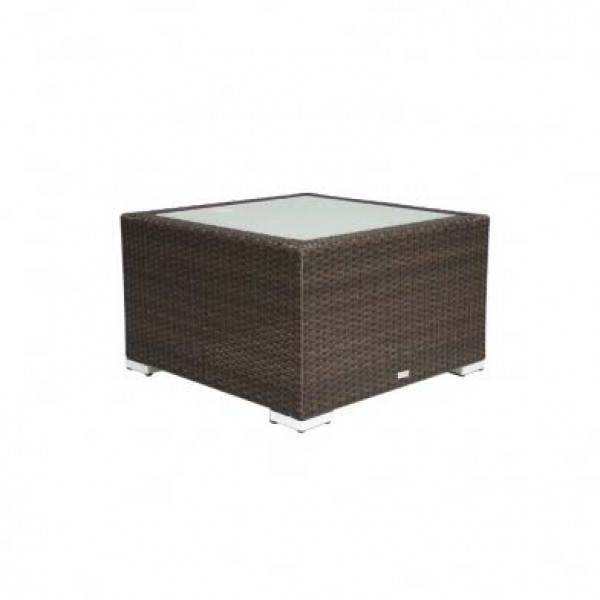 Source Outdoor Lucaya Wicker Square Coffee Table