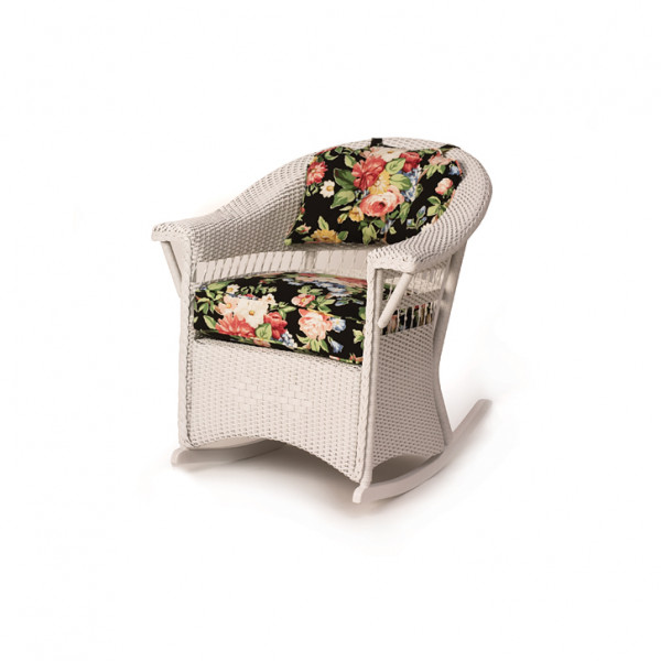 Lloyd Flanders Centennial Wicker Parlor Rocker - Replacement Cushion