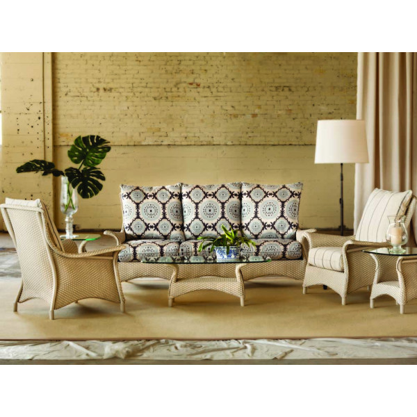 Lloyd Flanders Mandalay 6 Piece Wicker Conversation Set