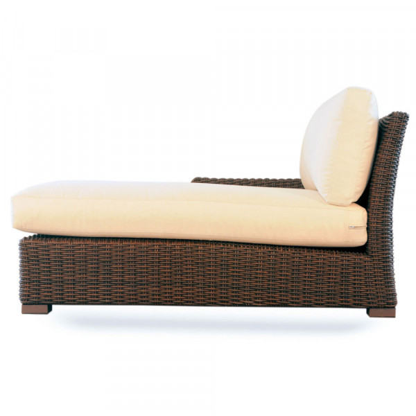 Lloyd Flanders Mesa Left Arm Facing Wicker Chaise Lounge - Replacement Cushion