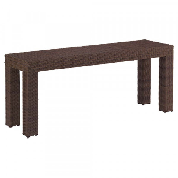 WhiteCraft by Woodard Montecito Wicker Console Table