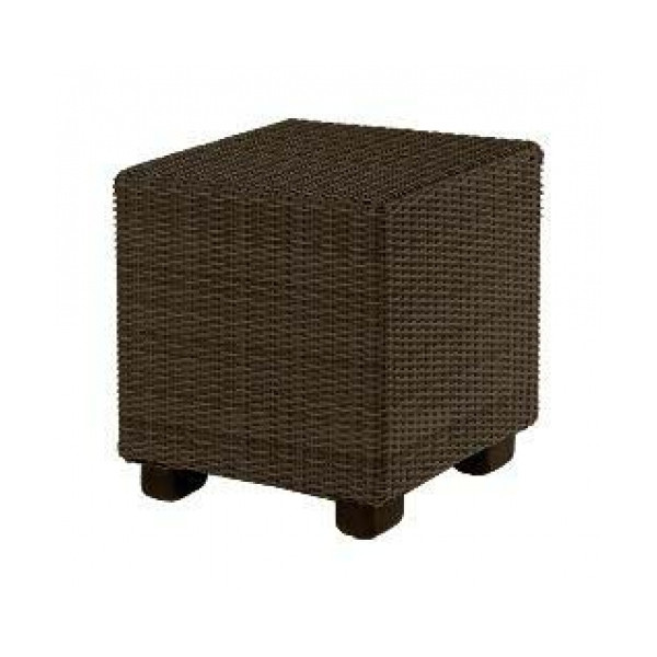 WhiteCraft by Woodard Montecito Wicker End Table