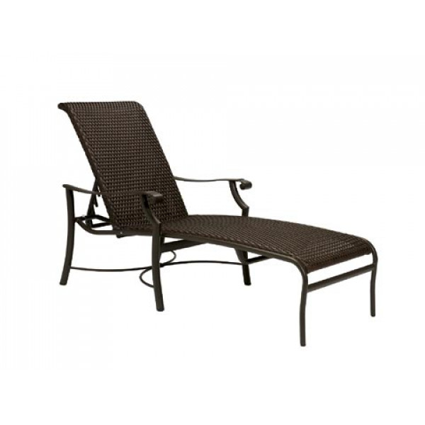Tropitone Montreux Woven Wicker Chaise Lounge