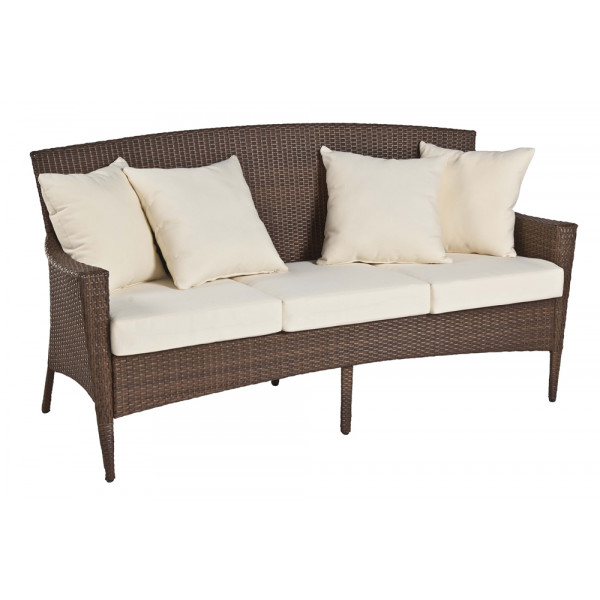 Panama Jack Key Biscayne Wicker Sofa