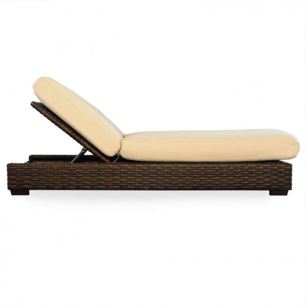Lloyd Flanders Contempo Adjustable Wicker Chaise Lounge
