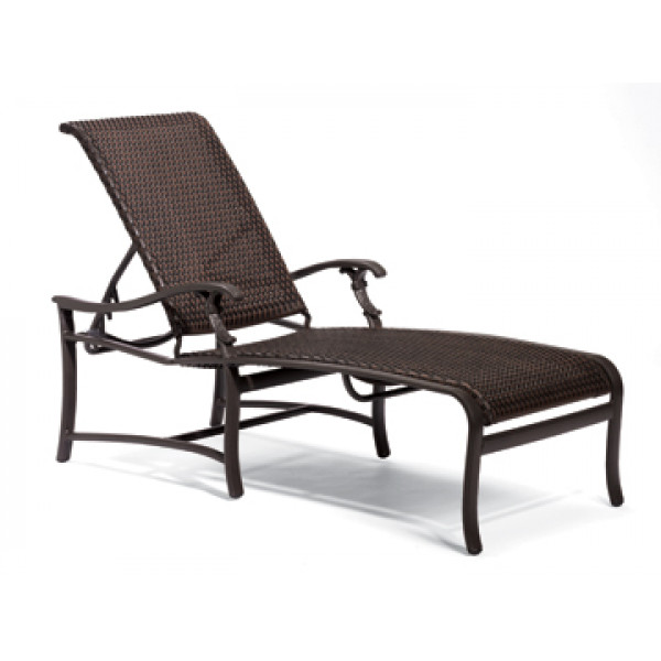 Tropitone Ravello Woven Wicker Chaise Lounge
