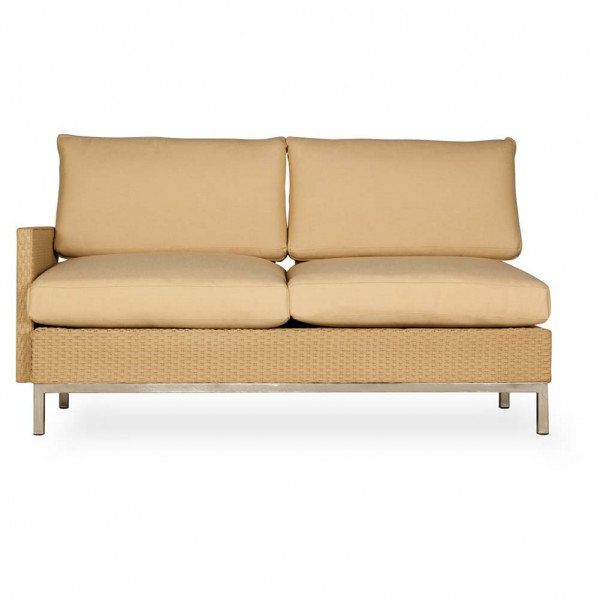 Lloyd Flanders Elements Right Arm Facing Wicker Loveseat - Replacement Cushion