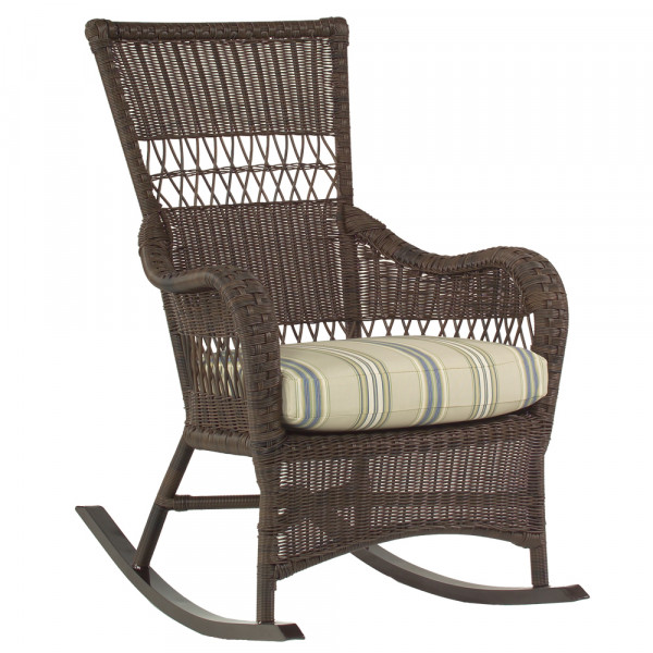 WhiteCraft by Woodard Sommerwind Wicker Rocking Chair