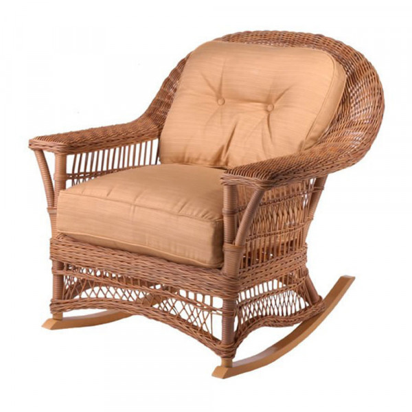 WhiteCraft by Woodard Cottage Wicker Rocker  - Replacement Cushion