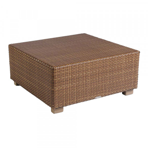 WhiteCraft by Woodard Sedona Square Wicker Cocktail Table
