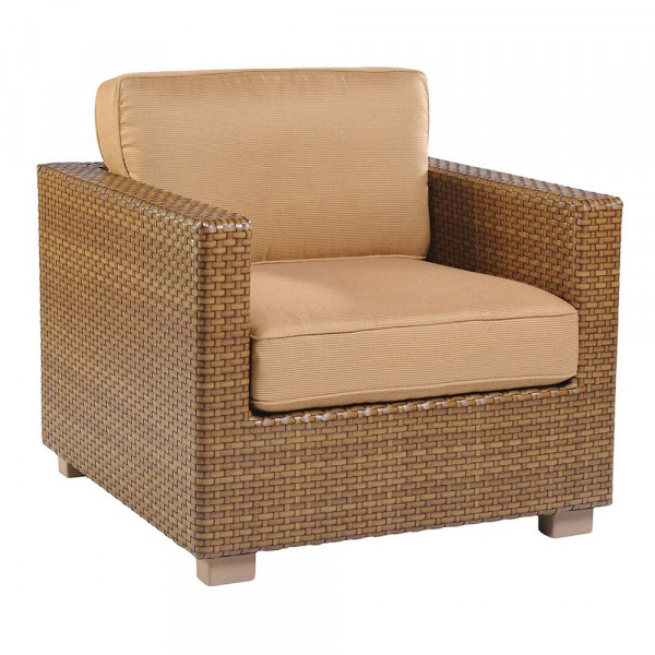 WhiteCraft by Woodard Sedona Wicker Lounge Chair