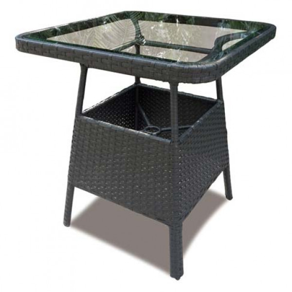 "Longboat Key Santa Monica 38"" Wicker Pub Table"