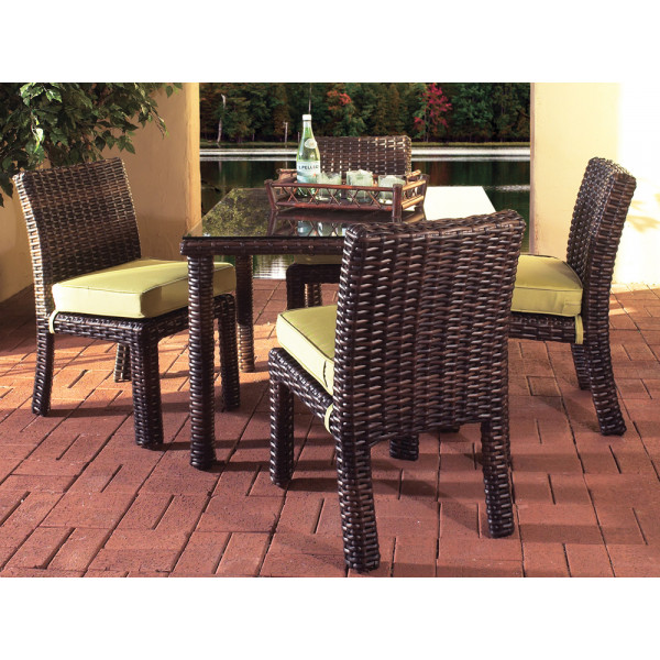 South Sea Rattan Saint Tropez 5 Piece Wicker Dining Set
