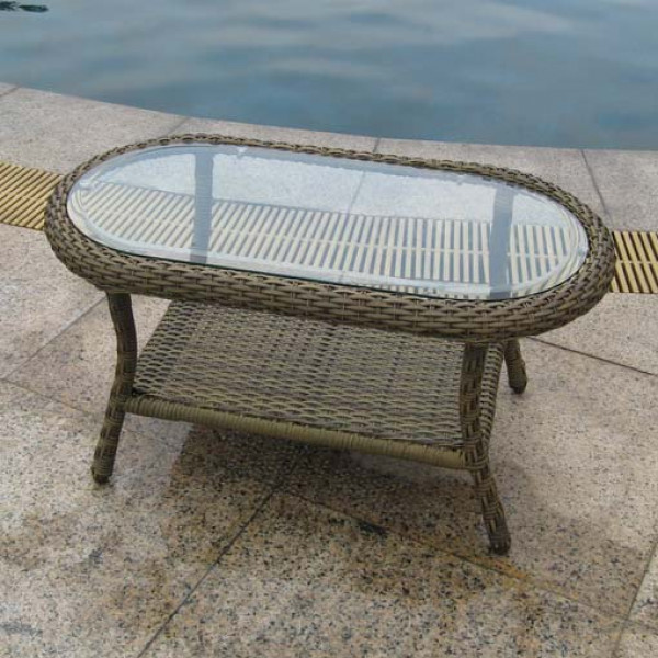 Longboat Key Summit Wicker Coffee Table
